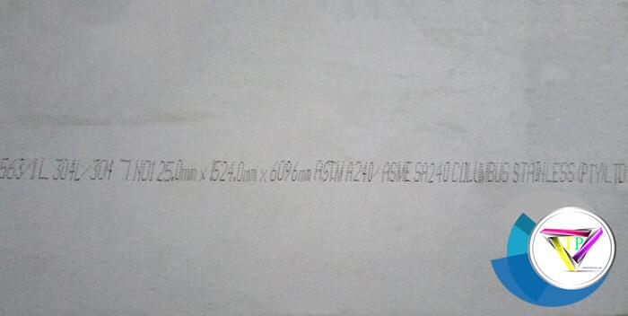 Tấm Inox 304 dày 25mm