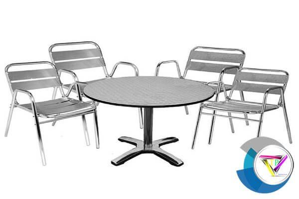 Gia công bàn ghế inox