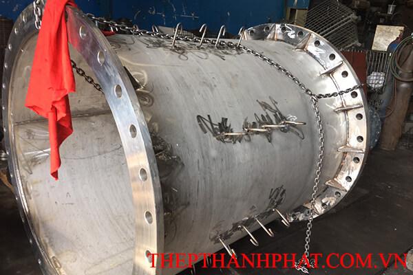 gia công mặt bích nối ống inox DN1200