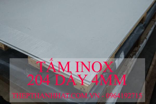 Tấm Inox 201 dày 4mm