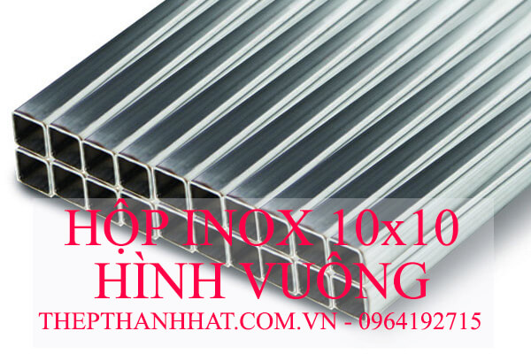 Hộp Inox Vuông 10x10 mm