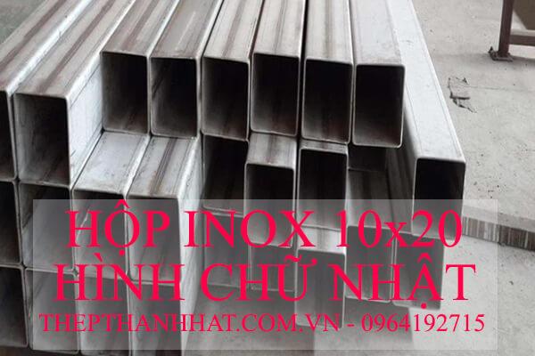 Hộp Inox 304 201 316 Hình Chữ Nhật 10x20