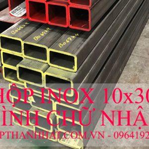 Hộp Inox 10x30 mm Hình Chữ Nhật
