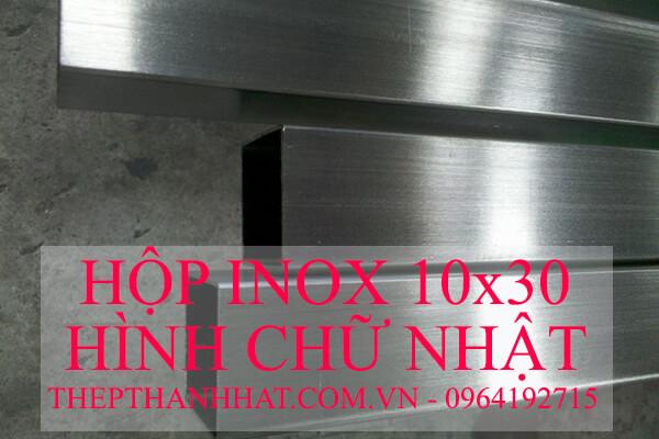 Hộp Inox Chữ Nhật 10x30mm