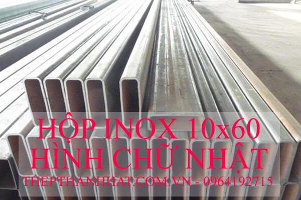 Hộp Inox 10x60 mm Hình Chữ Nhật