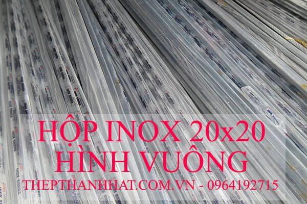 Hộp Inox 20×20 mm Hình Vuông